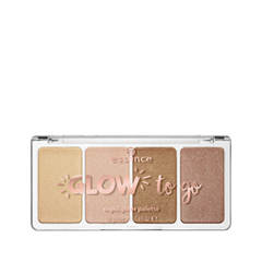 Для лица essence Glow To Go Highlighter Palette 10 (Цвет 10 Sunkissed Glow variant_hex_name 8E6C47) нагрудник munchkin to go 4 11880 new