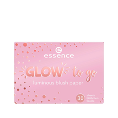 Румяна essence Glow To Go Luminous Blush Paper 10 (Цвет 10 You Make Me Blush variant_hex_name F4C4D6)