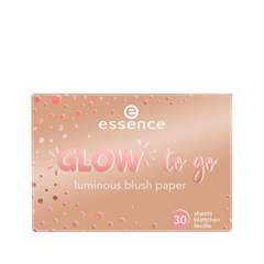 Румяна essence Glow To Go Luminous Blush Paper 20 (Цвет 20 Kissed By The Sun variant_hex_name E4BFA9)