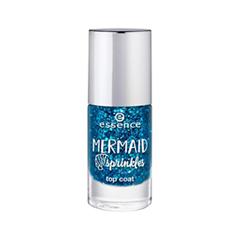 Топы essence Mermaid Sprinkles Top Coat (Объем 8 мл) топы essence ultra gloss nail shine объем 8 мл