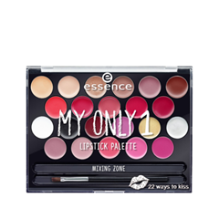 Для губ essence My Only 1 Lipstick Palette 01 (Цвет 01 22 Ways To Kiss variant_hex_name AB0C3A) only a promise