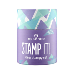 Набор для маникюра essence Stamp It! дизайн ногтей essence накладные ногти french click
