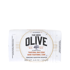 Pure Greek Olive Traditional Soap Cedar (Объем 125 г)