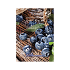 Тканевая маска Secret Nature Firming Blueberry Mask Sheet (Объем 25 мл) косметические маски diapia маска для лица diapia 24k gold snail firming gel mask 1 шт