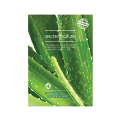Тканевая маска Secret Nature Soothing Aloe Mask Sheet (Объем 25 мл) маска it s skin derma thera bio cellulose mask soothing