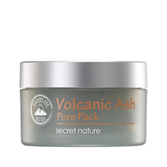 Маска Secret Nature Volcanic Ash Pore Pack (Объем 100 г) маска caolion pore blackhead eliminating t zone strip