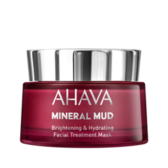 Маска Ahava Mineral Mud Brightening & Hydrating Facial Treatment Mask (Объем 50 мл)