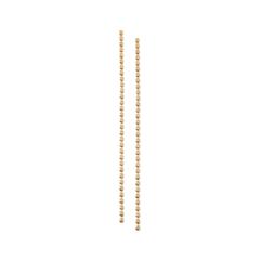 Серьги Herald Percy Золотые длинные серьги-цепочки