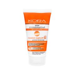 Крем Kora Крем солнцезащитный SPF60 для лица и тела (Объем 150 мл)