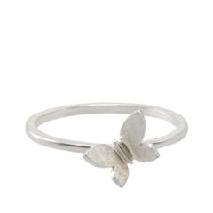 Кольца Lisa Smith Серебристое кольцо с бабочкой (Размер 160) lisa corti короткое платье