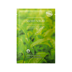 Тканевая маска Secret Nature Deep Moisturizing Green Tea Mask Sheet (Объем 25 мл) тканевая маска vprove phyto therapy mask sheet green tea flavonoid purity объем 20 мл