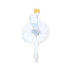 Броши Hi!Hi! Goodbye! Брошь Балерина