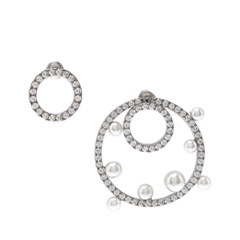 Серьги Lisa Smith Асимметричные серьги-круги lisa corti короткое платье