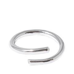 Кольца Lisa Smith Серебристое незамкнутое кольцо (Размер U) майка lisa crown майка