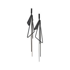 Серьги Nuance Черные серьги с геометрическими подвесками серьги с подвесками jv серебряные серьги с жадеитами куб циркониями и силиконом a4944 jd js ci 001 wg