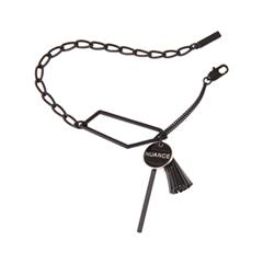 Браслеты Nuance Черный браслет-цепочка с кисточкой