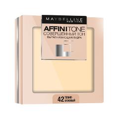 Компактная пудра Maybelline New York Affinitone 42 (Цвет 42 Темно-бежевый variant_hex_name dbb298)