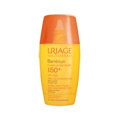 Защита от солнца Uriage Bariésun Fluide Ultra-Léger SPF50+ (Объем 30 мл) ультра флюид toleriane ultra fluide 40 мл