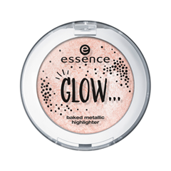 Glow... Baked Metallic Highlighter 02 (Цвет 02 …Like You're Doing What You Love variant_hex_name EFC6BB)