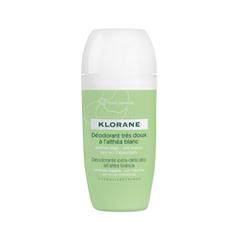 Дезодорант Klorane Deodorant Roll On with White Althea (Объем 40 мл) антидождь soft99 glaco roll on для стекла 75 мл