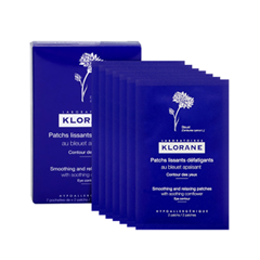 Уход за кожей вокруг глаз Klorane Soothing and Relaxing Patches for Tired Eyes (Объем 7х2 мл) бальзам vichy aqualia thermal lips soothing and repairing balm объем 4 7 мл