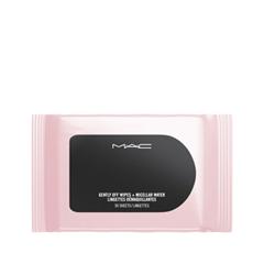 Влажные салфетки MAC Cosmetics Gently Off Wipes + Micellar Water phytomer вода мицеллярная micellar water eye makeup removal solution 150мл
