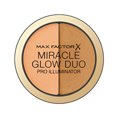 Хайлайтер Max Factor Miracle Glow Duo 30 (Цвет 30 Deep variant_hex_name C68754 Вес 20.00) блеск для губ colour elixir тон 45 max factor цвет lux berry