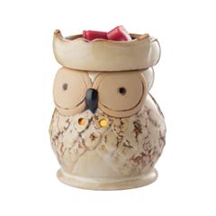 Диффузор Candle Warmers Owl Illumination миниатюра пятнистая сова цвет золотистый 8 см