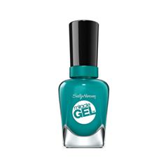 Гель-лак для ногтей Sally Hansen Miracle Gel 141 (Цвет 141 Tropic Relief variant_hex_name 1B9290) sally hansen sally hansen гель лак для ногтей miracle gel cuba 141 14 7 мл