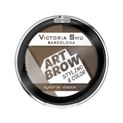 Тени для бровей Victoria Shu Art Brow 102 (Цвет 102 variant_hex_name 6D5C44) тени для век victoria shu top model eyeshasow 204 цвет 204 variant hex name 816c5f