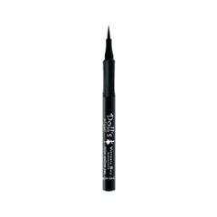 Подводка Victoria Shu Doll`s Style Styler Eyeliner Pen (Цвет Glam Black variant_hex_name 000000) для глаз victoria shu doll s style eyeshadow palette 50 цвет 50 variant hex name cead96