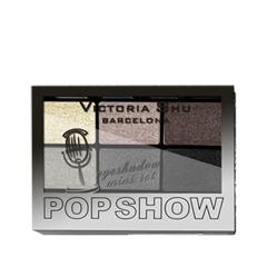 Для глаз Victoria Shu Pop Show Eyeshadow Mini Set 467 (Цвет 467 variant_hex_name 857870) тушь для ресниц victoria shu the best one extreme volume