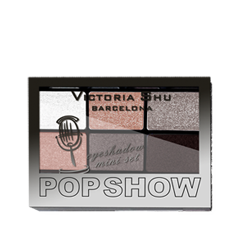 Для глаз Victoria Shu Pop Show Eyeshadow Mini Set 468 (Цвет 468 variant_hex_name AC8367) тушь для ресниц victoria shu the best one extreme volume