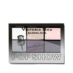 Для глаз Victoria Shu Pop Show Eyeshadow Mini Set 470 (Цвет 470 variant_hex_name 726471) тушь для ресниц victoria shu the best one extreme volume