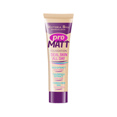Pro Matt Foundation Ideal Skin All Day 305 (Цвет 305 Натуральный variant_hex_name E1BC84)