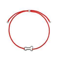 Браслеты Wanna? Be! Браслет Фаллос на красной нити посеребренный браслеты germes браслет детский оберег