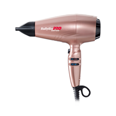 Фен BaByliss PRO Rapido Rose Gold Ferrari набор babyliss p1035e bab7000ire rapido red professional hairstyle box набор фен bab7000ire аксессуары