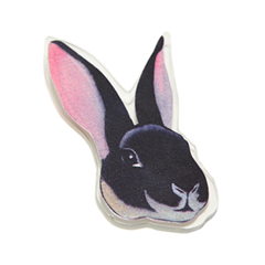 Броши Hi!Hi! Goodbye! Брошь Кролик броши hi hi goodbye брошь азиатка