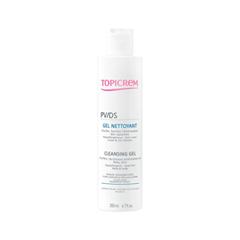 Гель Topicrem PV/DS Cleansing Gel (Объем 200 мл) гель topicrem ad ultra rich cleansing gel