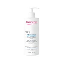 Крем Topicrem UR-10 Anti-Roughness Smoothing Cream (Объем 500 мл) крем для тела llang red ginseng revitalizing smoothing care cream объем 150 мл
