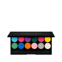 Тени для век Sleek MakeUP I Divine (Цвет Ultra Mattes 730 V1 Brights variant_hex_name FBD700)