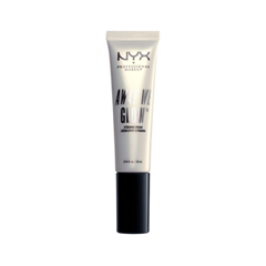 Хайлайтер NYX Professional Makeup Away We Glow Strobing Cream 01 (Цвет 01 Bright Star variant_hex_name F0E8D4) хайлайтер make up factory strobing fluid цвет 03 luminous glow variant hex name e4c4aa