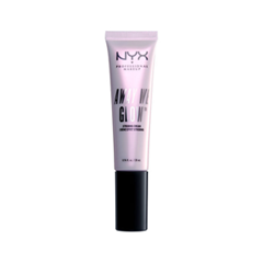 Хайлайтер NYX Professional Makeup Away We Glow Strobing Cream 02 (Цвет 02 Glow-Tini variant_hex_name F0E8D4) telling glow