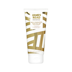 Автозагар James Read Enhance Body Foundation Wash Off Tan Face & Body (Объем 100 мл) средства для загара james read рукавичка для нанесения загара enhance tanning mitt