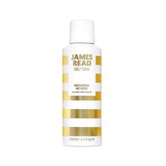 Автозагар James Read Self Tan Bronzing Mousse Face & Body (Объем 200 мл) автозагар lancaster self tan beauty self tanning comfort cream instant golden glow 02 medium объем 125 мл