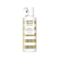 Автозагар James Read Self Tan Instant Bronzing Mist Face & Body (Объем 200 мл) автозагар lancaster self tan beauty self tanning comfort cream instant golden glow 02 medium объем 125 мл
