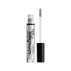 Блеск для губ NYX Professional Makeup Lip Lingerie Glitter 01 (Цвет 01 Clear variant_hex_name EDEDED)