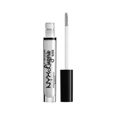 цена Блеск для губ NYX Professional Makeup Lip Lingerie Gloss 01 (Цвет 01 Clear variant_hex_name E4E4E4)