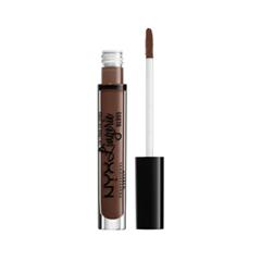 Блеск для губ NYX Professional Makeup Lip Lingerie Gloss 09 (Цвет 09 Maison variant_hex_name 69473B)