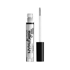 Блеск для губ NYX Professional Makeup Lip Lingerie Shimmer 01 (Цвет 01 Clear variant_hex_name EDEDED) блеск для губ nyx professional makeup butter gloss 06 цвет 06 peach cobbler variant hex name fe5244